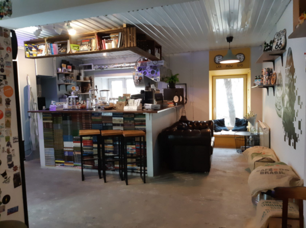 Кафе в ЦАО.