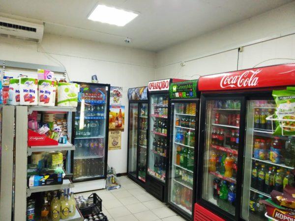 Магазин продуктов без конкурентов